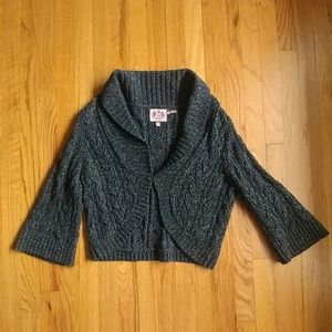 Juicy Couture XL bolero sweater